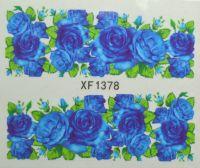 Водная наклейка для дизайна ногтей XF 1378