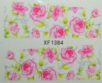 Водная наклейка для дизайна ногтей XF 1384