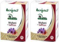 Маска для лица лечебная глина&шафран (порошок) Банджарас (Banjara's Multani&Saffron Face Pack)