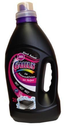 Gallus Гель для стирки чёрного и тёмного белья 27 стирок 2 л