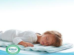 Ортопедический матрас для детей в коляску, кроватку Trelax