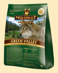"Wolfsblut Green Valley ""Зеленая долина"" баранина/лосось"