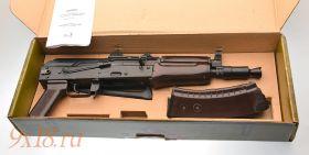 Списанное охолощенное оружие - автомат АКС74У-СО, калибр 5.45 мм