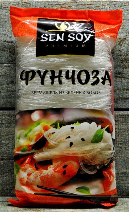 СЕН-СОЙ Стеклянная вермишель «Фунчоза», 200 г