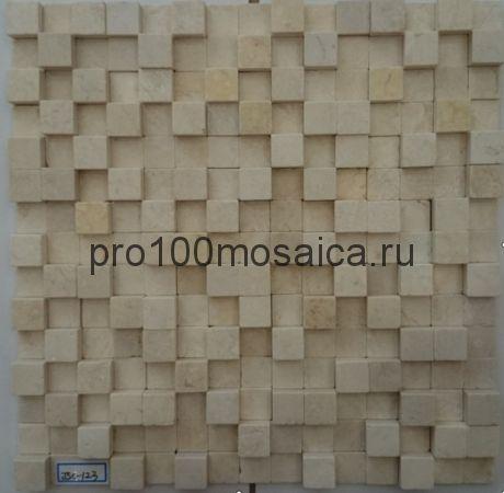 MLS026. Бесшовная мозаика 3D Fusion Stone, размер: 300*300*12 мм (Opera Decoration)