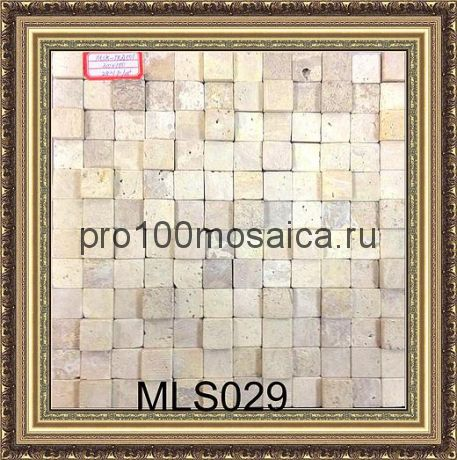 MLS029. Бесшовная мозаика 3D Fusion Stone, размер: 300*300*13 мм (Opera Decoration)