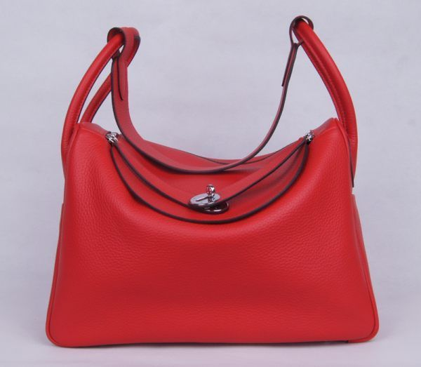 Сумка HERMES Lindy Handbag Clemence Leather