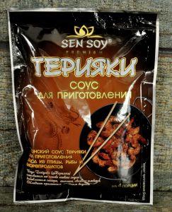 СЭН-СОЙ Соус для приготовления Терияки «Teriyaki» метал. пакет 120гр