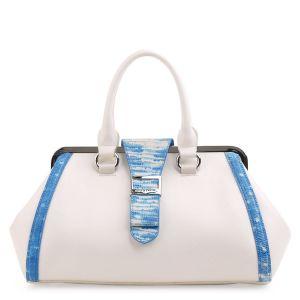 Белая сумка Fiato