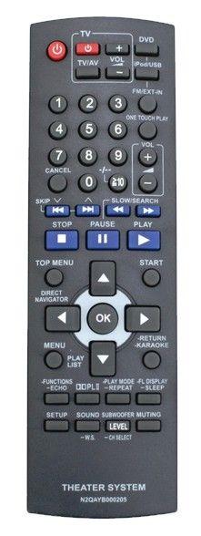 Пульт для для Panasonic N2QAYB000205 (N2QAYB000209) (home theater) (SC-PT465EE-K, SC-PT560EE-K, SC-PT860EE-K)