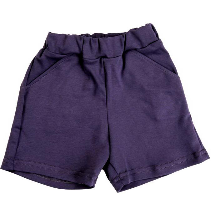 Темно-синие детские шорты на рост 128