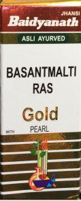 BASANTMALTI RAS (WITH GOLD & PEARL),10ТАБ BAIDYANATH
