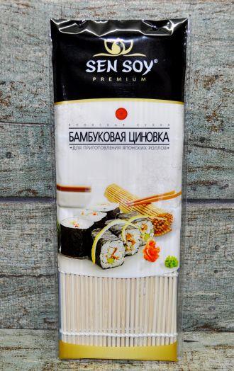 СЭН-СОЙ Бамбуковая циновка для суши