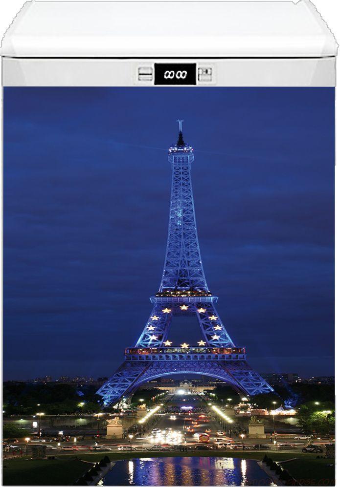 наклейка на посудомоечную машину - Paris