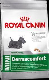 Royal Canin Mini Dermacomfort для собак ( с 8 мес. до 8 лет) маленьких (до 10 кг) размеров 4 кг.