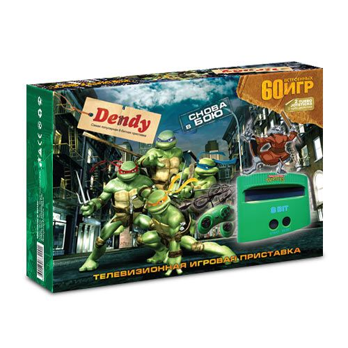 Dendy Turtles 60-in-1