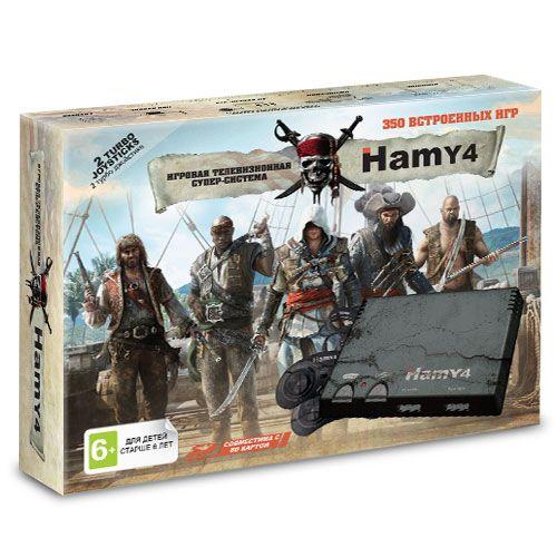"""Sega - Dendy """"Hamy 4"""" (350-in-1) Assassin Creed Black"""