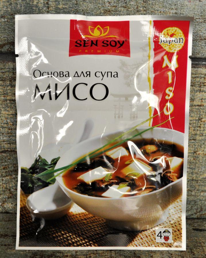 СЭН-СОЙ Основа для супа Мисо, 80г
