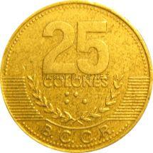 Коста-Рика 25 колон 1995 г.