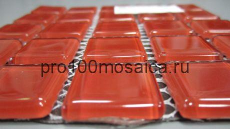 Red glass Мозаика серия CRYSTAL, размер, мм: 300*300