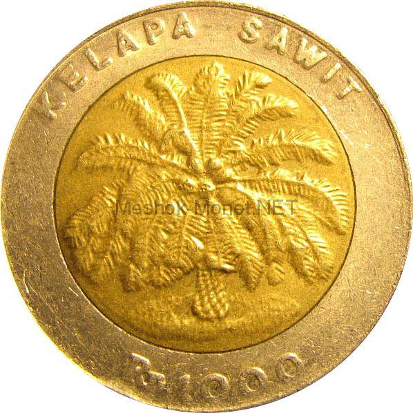 Индонезия 1000 рупий 1996 г.