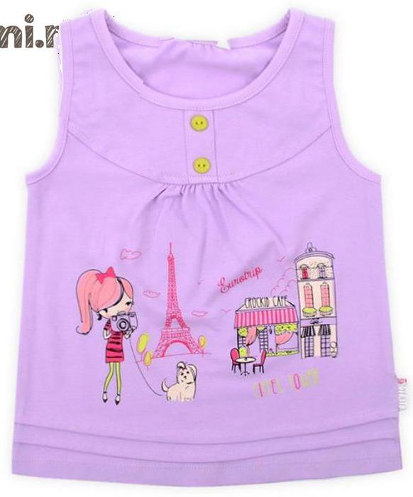 Блуза для девочки Фиалка