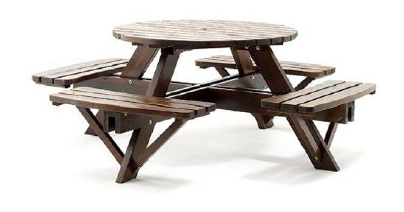 Мебель из сосны Picnic Rondo