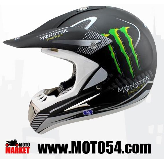 Шлем Kawasaki monster energy HD-802