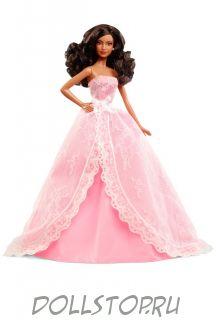 "Birthday Wishes Barbie Doll - African-American  - Кукла Барби ""Пожелание ко Дню Рождения"" АА 2015"