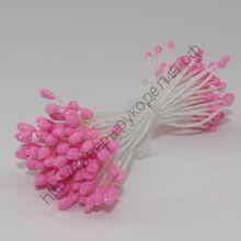 тычинки с блеском розовые