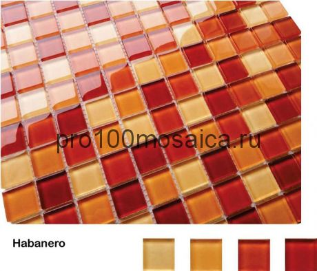 Habanero Мозаика серия Acquarelle 23x23, размер, мм: 298*298*4 (Caramelle)