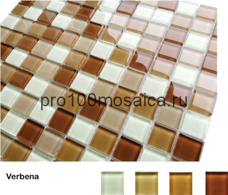 Verbena Мозаика серия Acquarelle 23x23, размер, мм: 298*298*4 (Caramelle)