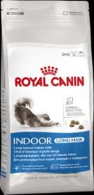 Royal Canin  INDOOR LONG HAIR 35 для дом. длинношерстных кошек  ( с 1 до 7 лет) 10 кг.
