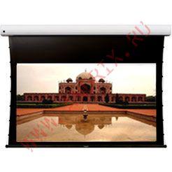 Экран с электроприводом Classic Solution Premier Leo-R 224x160 см (16:9) серое полотно