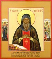 Икона Анатолий Печерский (рукописная)
