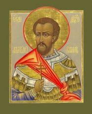 Икона Анатолий Никомидийский (рукописная)