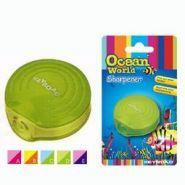 "Точилка Ocean World ""Ракушка"", 1 отверстие, с накопителем, блистер"