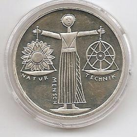 Выставка EXPO-2000 Ганновер  10 марок ФРГ 2000 А