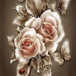 Сверкающие розы
