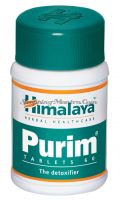 Пурим для детоксикации и здоровья кожи Хималая (Himalaya Purim Tablets)
