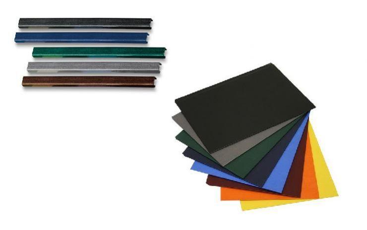 """Цветные каналы с покрытием """"ткань"""" А4 SLIM (длина 304 мм) O.CHANNEL А4 304mm"""