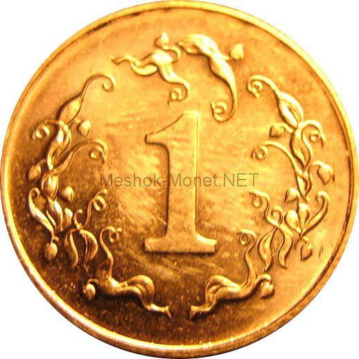 Зимбабве 1 цент 1980 г.