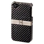 "Футляр ""Hama H-107152 Stand"" для Apple iPhone 4/4S выдвижная ножка-подставка пластик черный"