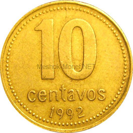 Аргентина 10 сентаво 2005 г.
