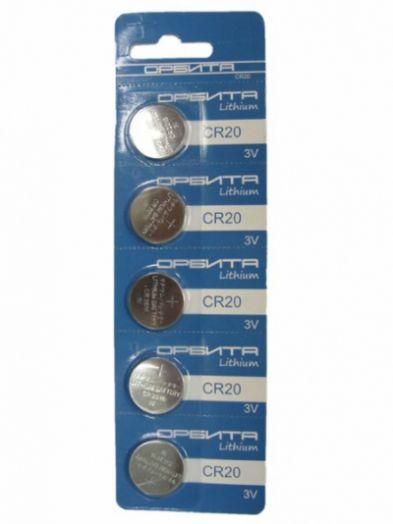 Батарейка литиевый элемент питания (диск) Орбита 1632 BR-5 (5/100)