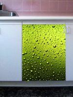 Наклейка на посудомоечную машину - Капли