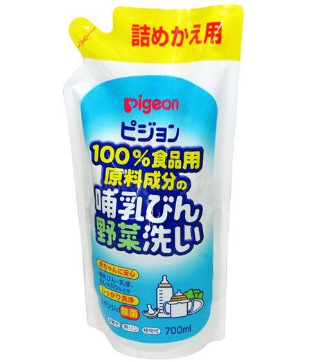 Pigeon Средство для мытья бутылочек и овощей, 700 мл (см.блок)