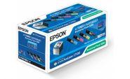 Экономичный набор тонер-картриджей для Epson AcuLaser C1100, CX11N, CX11NF