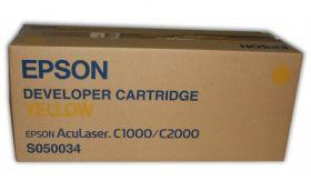 Тонер-картридж различных цветов для Epson AcuLaser C1000, C2000