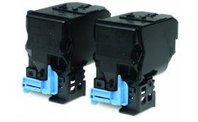 Набор из двух черных тонер-картриджей для Epson AcuLaser C3900